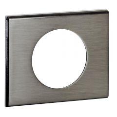 Рамка 1-постовая Legrand Celiane фактурная сталь 069101