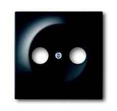Лицевая панель ABB Impuls розетки TV-R чёрный бархат 2CKA001753A0140