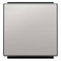 Лицевая панель ABB Sky выключателя одноклавишного нержавеющая сталь 2CLA850100A1401
