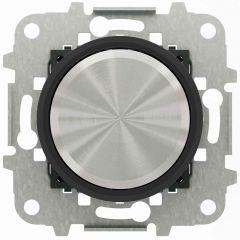 Диммер поворотный для LED ABB Sky Moon cтекло чёрное 2CLA866020A1501