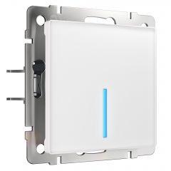 Werkel Сенсорный выключатель одноклавишный с функцией Wi-Fi (белый) W4510601