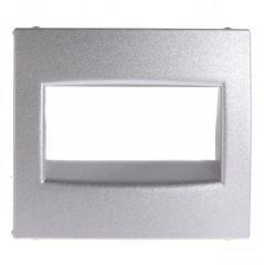 Лицевая панель Legrand Valena розетки RJ45 алюминий 770255