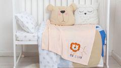 Крошка Я Плед детский (90x100 см) Mr. Lion