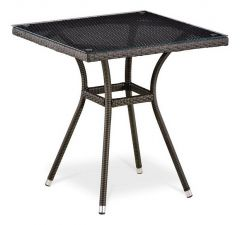 Afina Стол обеденный T282BNT-W53-70x70 Brown