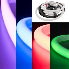 Гибкий неон SWG 14W/m 120LED/m 4040SMD разноцветный 2M 003443