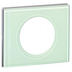 Рамка 1-постовая Legrand Celiane смальта белая глина 069311