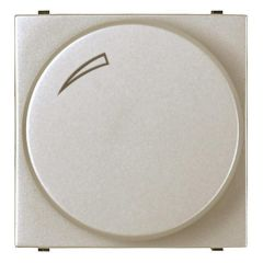 Диммер поворотный для LEDi ламп ABB Zenit серебро N2260.3 PL