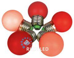 Rich LED Лампа светодиодная G45 E27 220В 2Вт NONEK RL-B-E27-G45-2W-R