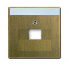 Лицевая панель ABB Dynasty розетки UAE латунь античная 2CKA001710A4082