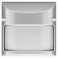 Лицевая панель ABB Sky датчик движения нержавеющая сталь 2CLA854110A1401