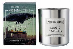 Ambientair Свеча ароматическая (9.2 см) Mise En Scene Magic happens VV050GRMS