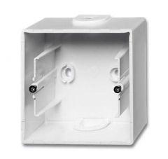 Коробка для накладного монтажа 1-постовая ABB Basic55 альпийский белый 2CKA001799A0974