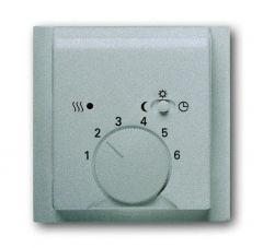 Лицевая панель ABB Impuls терморегулятора серебристо-алюминиевый 2CKA001710A3747