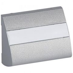 Лицевая панель Legrand Galea Life розетки AMP алюминий 771376