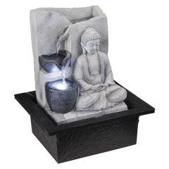 Фонтан декоративный Светящийся Будда Globo Albert 93019