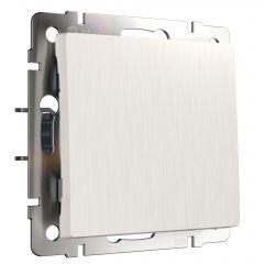 Werkel Выключатель одноклавишный (перламутровый рифленый) W1110013