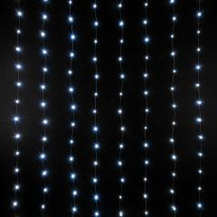 Занавес световой [2x3 м] Eurosvet Роса 200-004 белый