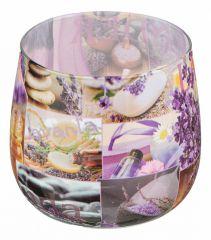 АРТИ-М Свеча ароматическая (6x7 см) Лаванда 348-482