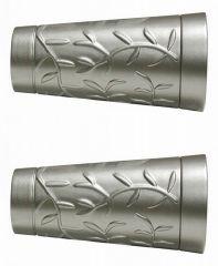 Эскар Набор из 2 наконечников для карнизов Конус с орнаментом
