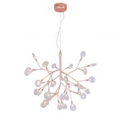 Подвесной светильник Crystal Lux Evita SP36 Copper/Transparent