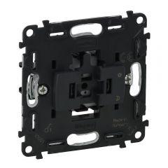 Выключатель одноклавишный Legrand Valena Мех In Matic 10AX 250V с подсветкой безвинт. зажим 752001