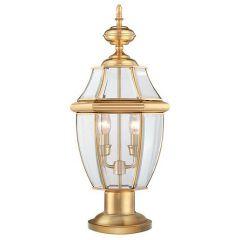 Наземный низкий светильник Quoizel Newbury QZ/NEWBURY3/L