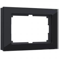 Werkel Рамка для двойной розетки (черный) W0081108