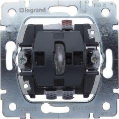 Переключатель одноклавишный на 2 направления Legrand Galea Life 10A 250V с подсветкой 775602