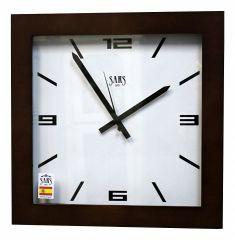 Настенные часы (45x45 см) SARS 0195 Dark Walnut
