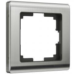 Werkel Рамка на 1 пост (глянцевый никель) W0011602