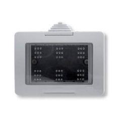 Коробка для накладного монтажа 3-модульная ABB Zenit IP55 N3391