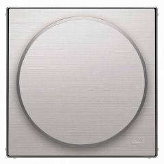 Лицевая панель ABB Sky диммера поворотного нержавеющая сталь 2CLA856020A1401