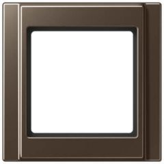 Рамка 1-постовая Jung A 500 мокка A581MO