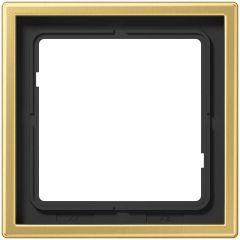 Рамка 1-постовая Jung LS 990 латунь classic ME2981C