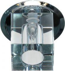 Точечный светильник Feron 17265 JD57S G9 прозрачный, хром