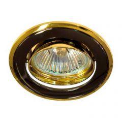 Точечный светильник Feron 17536 301T-MR16 GU5,3 черный-золото