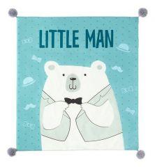 Крошка Я Плед детский (90x100 см) Little man