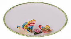 Annaluma Блюдо декоративное (30х4 см) Бабочка 628-662
