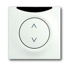 Лицевая панель ABB Impuls выключателя с ДУ белый бархат 2CKA006020A1406