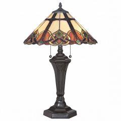 Настольная лампа декоративная Quoizel Cambridge QZ/CAMBRIDGE/TL
