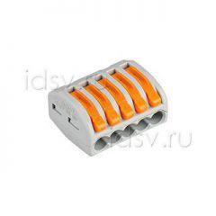 Wago Клемма 222-415 (3 провода, 2.5-4мм)