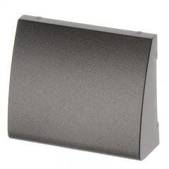 Лицевая панель Legrand Galea Life двойной вывода кабеля темная бронза 771285