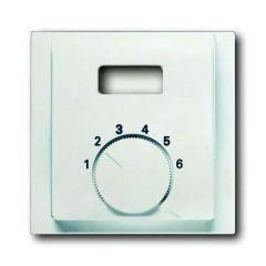 Лицевая панель ABB Impuls терморегулятора белый бархат 2CKA001710A3921