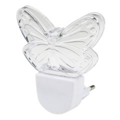 Светильник-ночник Uniel DTL-315 Бабочка/White UL-00007049