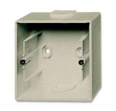 Коробка для накладного монтажа 1-постовая ABB Basic55 шампань 2CKA001799A0962
