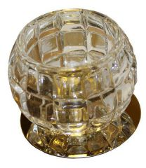 Точечный светильник LFlash CT870-СL CR хром/прозрачный G9