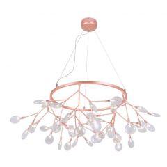 Подвесной светильник Crystal Lux Evita SP45 D Copper/Transparent