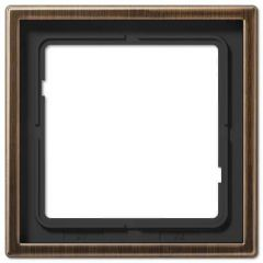 Рамка 1-постовая Jung LS 990 латунь antik ME2981AT