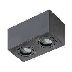 Потолочный светильник Azzardo Brant 2 Square IP44 AZ2879