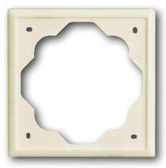 Рамка 1-постовая ABB Impuls слоновая кость 2CKA001754A4505